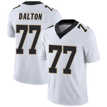 Youth Nike New Orleans Saints Jalen Dalton White Vapor Untouchable Jersey - Limited