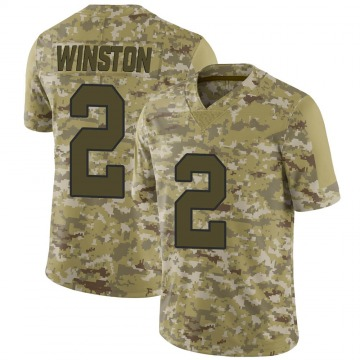 Youth Nike New Orleans Saints Jameis Winston Camo 2018 Salute to Service Jersey - Limited