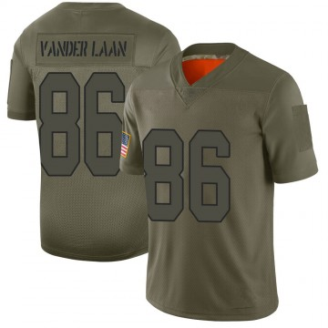Youth Nike New Orleans Saints Jason Vander Laan Camo 2019 Salute to Service Jersey - Limited