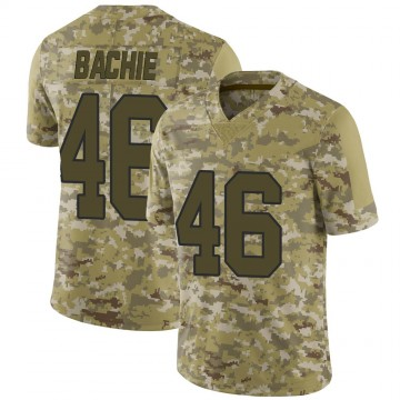 Youth Nike New Orleans Saints Joe Bachie Camo 2018 Salute to Service Jersey - Limited