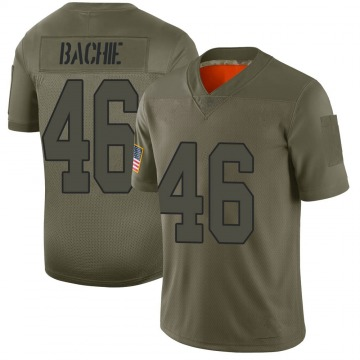 Youth Nike New Orleans Saints Joe Bachie Camo 2019 Salute to Service Jersey - Limited