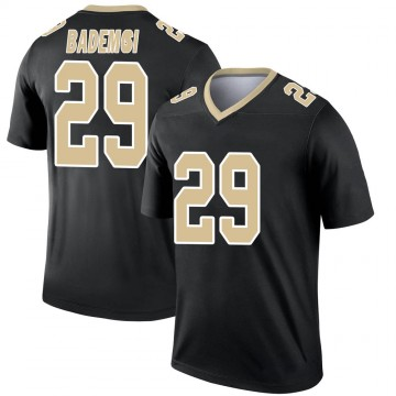 Youth Nike New Orleans Saints Johnson Bademosi Black Jersey - Legend