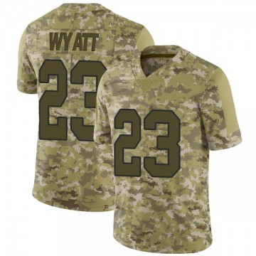 Youth Nike New Orleans Saints Jordan Wyatt Camo 2018 Salute to Service Jersey - Limited