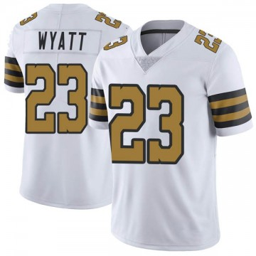 Youth Nike New Orleans Saints Jordan Wyatt White Color Rush Jersey - Limited