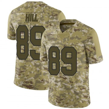 Youth Nike New Orleans Saints Josh Hill Camo 2018 Salute to Service Jersey - Limited