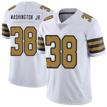 Youth Nike New Orleans Saints Keith Washington Jr. White Color Rush Jersey - Limited