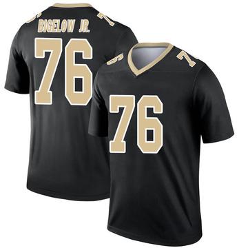 Youth Nike New Orleans Saints Kenny Bigelow Jr. Black Jersey - Legend
