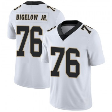 Youth Nike New Orleans Saints Kenny Bigelow Jr. White Vapor Untouchable Jersey - Limited