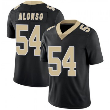 Youth Nike New Orleans Saints Kiko Alonso Black Team Color 100th Vapor Untouchable Jersey - Limited