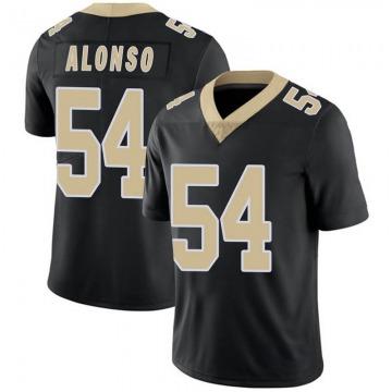 Youth Nike New Orleans Saints Kiko Alonso Black Team Color Vapor Untouchable Jersey - Limited