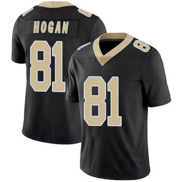 Youth Nike New Orleans Saints Krishawn Hogan Black Team Color 100th Vapor Untouchable Jersey - Limited