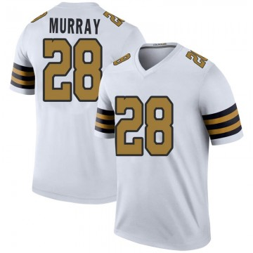 Youth Nike New Orleans Saints Latavius Murray White Color Rush Jersey - Legend