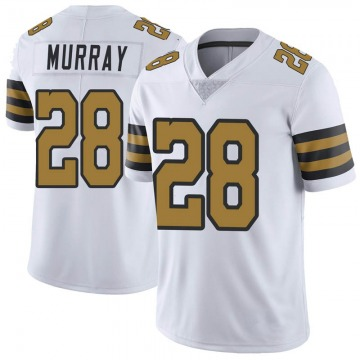 Youth Nike New Orleans Saints Latavius Murray White Color Rush Jersey - Limited