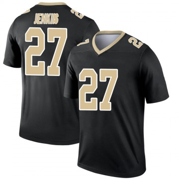 Youth Nike New Orleans Saints Malcolm Jenkins Black Jersey - Legend