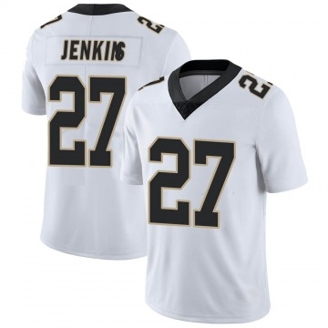 Youth Nike New Orleans Saints Malcolm Jenkins White Vapor Untouchable Jersey - Limited