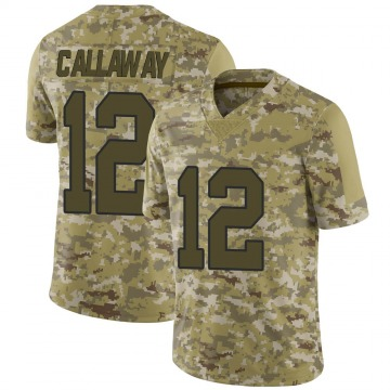 Youth Nike New Orleans Saints Marquez Callaway Camo 2018 Salute to Service Jersey - Limited