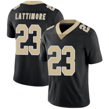 Youth Nike New Orleans Saints Marshon Lattimore Black Team Color 100th Vapor Untouchable Jersey - Limited