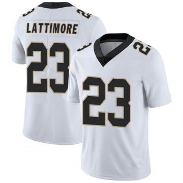 Youth Nike New Orleans Saints Marshon Lattimore White Vapor Untouchable Jersey - Limited