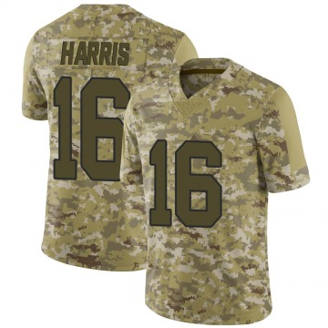 Youth Nike New Orleans Saints Maurice Harris Camo 2018 Salute to Service Jersey - Limited