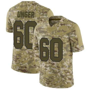 Youth Nike New Orleans Saints Max Unger Camo 2018 Salute to Service Jersey - Limited