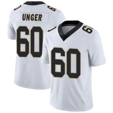 Youth Nike New Orleans Saints Max Unger White Vapor Untouchable Jersey - Limited