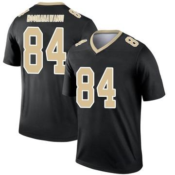 Youth Nike New Orleans Saints Michael Hoomanawanui Black Jersey - Legend