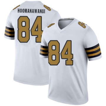 Youth Nike New Orleans Saints Michael Hoomanawanui White Color Rush Jersey - Legend