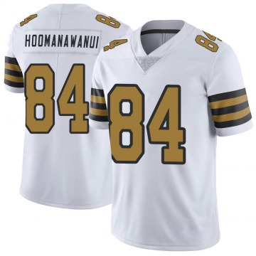 Youth Nike New Orleans Saints Michael Hoomanawanui White Color Rush Jersey - Limited