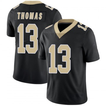 Youth Nike New Orleans Saints Michael Thomas Black Team Color 100th Vapor Untouchable Jersey - Limited