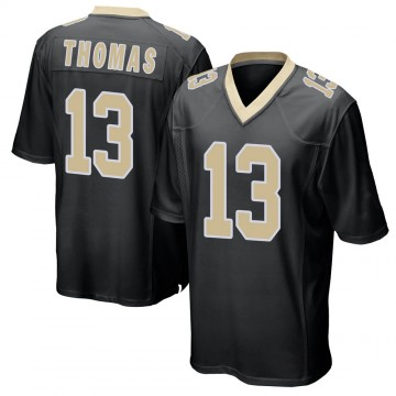 Youth Nike New Orleans Saints Michael Thomas Black Team Color Jersey - Game