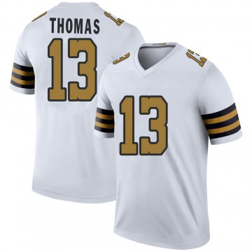 Youth Nike New Orleans Saints Michael Thomas White Color Rush Jersey - Legend