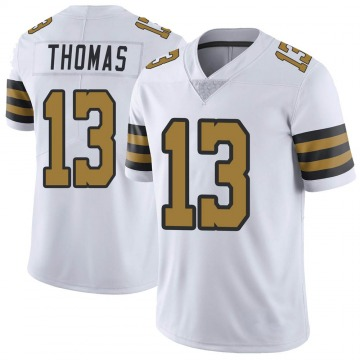 Youth Nike New Orleans Saints Michael Thomas White Color Rush Jersey - Limited