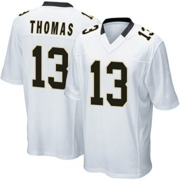 Youth Nike New Orleans Saints Michael Thomas White Jersey - Game