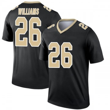 Youth Nike New Orleans Saints P.J. Williams Black Jersey - Legend