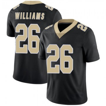 Youth Nike New Orleans Saints P.J. Williams Black Team Color 100th Vapor Untouchable Jersey - Limited