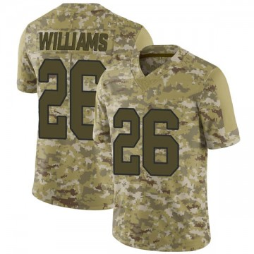 Youth Nike New Orleans Saints P.J. Williams Camo 2018 Salute to Service Jersey - Limited