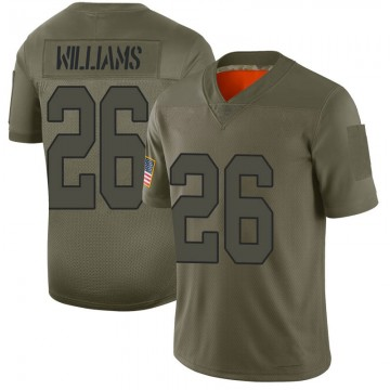 Youth Nike New Orleans Saints P.J. Williams Camo 2019 Salute to Service Jersey - Limited