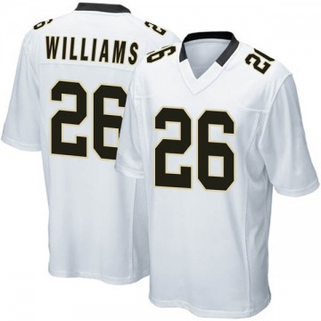 Youth Nike New Orleans Saints P.J. Williams White Jersey - Game