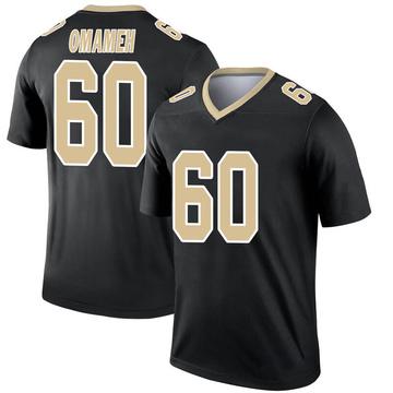 Youth Nike New Orleans Saints Patrick Omameh Black Jersey - Legend