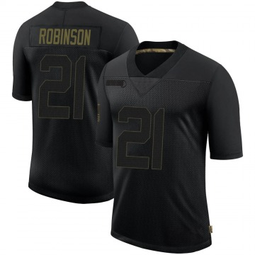 Youth Nike New Orleans Saints Patrick Robinson Black 2020 Salute To Service Jersey - Limited