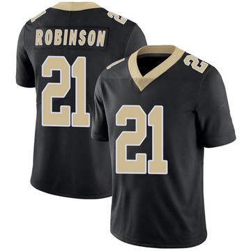 Youth Nike New Orleans Saints Patrick Robinson Black Team Color 100th Vapor Untouchable Jersey - Limited