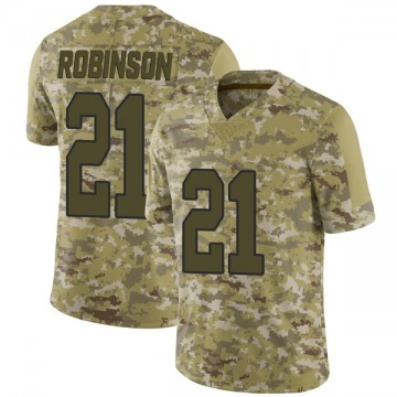 Youth Nike New Orleans Saints Patrick Robinson Camo 2018 Salute to Service Jersey - Limited