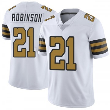 Youth Nike New Orleans Saints Patrick Robinson White Color Rush Jersey - Limited
