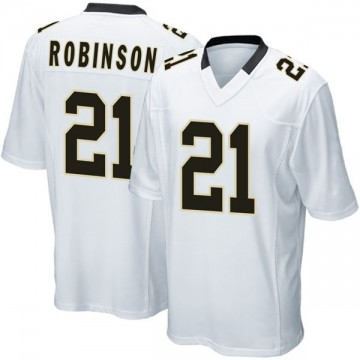 Youth Nike New Orleans Saints Patrick Robinson White Jersey - Game