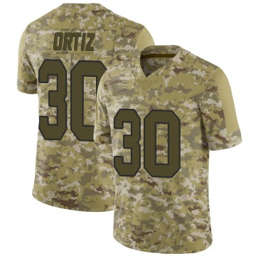 Youth Nike New Orleans Saints Ricky Ortiz Camo 2018 Salute to Service Jersey - Limited