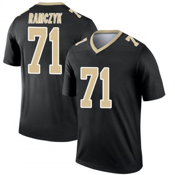 Youth Nike New Orleans Saints Ryan Ramczyk Black Jersey - Legend