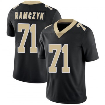 Youth Nike New Orleans Saints Ryan Ramczyk Black Team Color 100th Vapor Untouchable Jersey - Limited