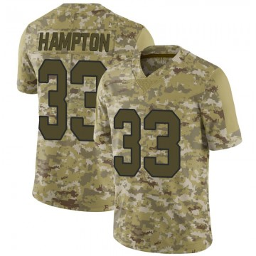 Youth Nike New Orleans Saints Saquan Hampton Camo 2018 Salute to Service Jersey - Limited