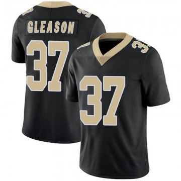 Youth Nike New Orleans Saints Steve Gleason Black Team Color 100th Vapor Untouchable Jersey - Limited