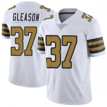 Youth Nike New Orleans Saints Steve Gleason White Color Rush Jersey - Limited